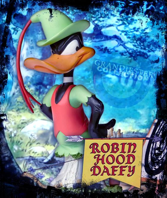 Daffy Duck as Robin Hood
