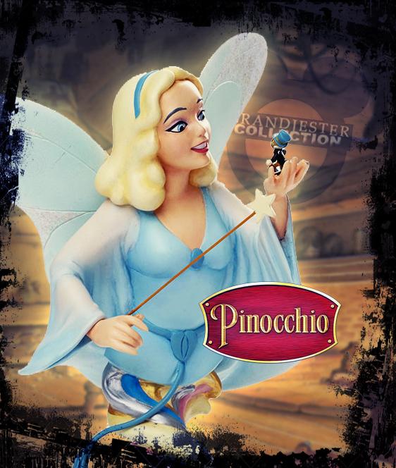 Blue Fairy and Jiminy Cricket