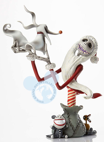 Grand Jester - Santa Jack Skellington and Zero